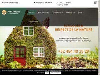 Référence en travaux de toiture en Belgique