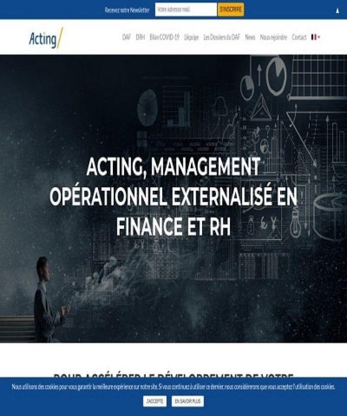 Management opérationnel externalisé en finance et en RH
