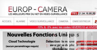 Europ Camera: pour le meilleur système de surveillance