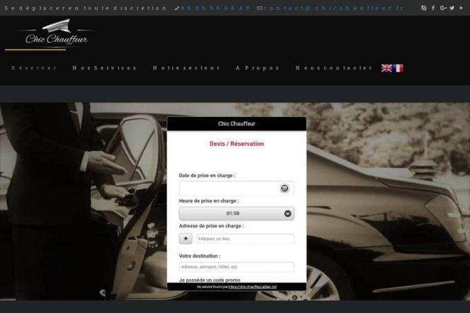 Chic Chauffeur : chauffeur privé (VTC) à Bordeaux