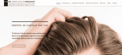 Médecine esthétique à Paris : service de greffe de cheveux FUE