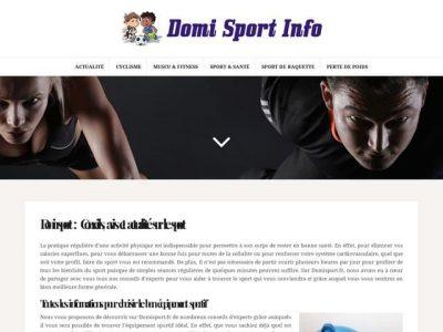 Conseils, avis et actualité sur le sport