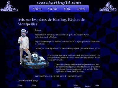 Le premier championnat des férus du karting