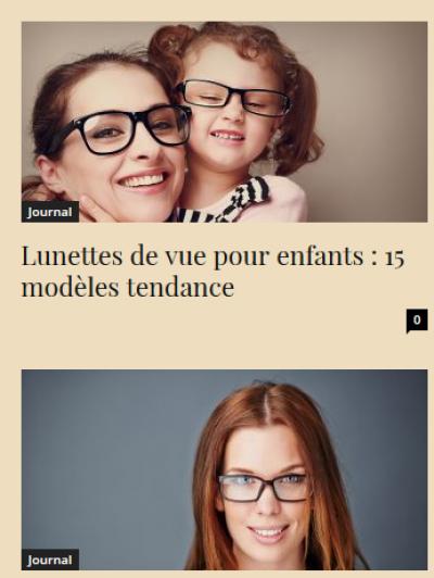 Bien choisir vos lunettes de vue