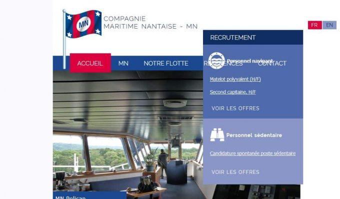 Gestionnaire des navires et armateur maritime à Nantes