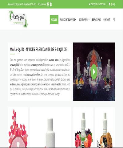 Maïly-Quid, votre fabricant d'e-liquide en France