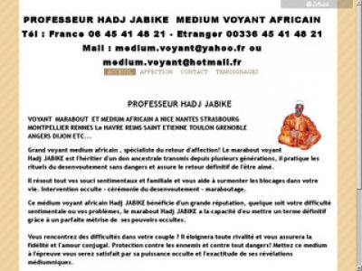 Consultez le Hadj Jabike, le meilleur médium africain