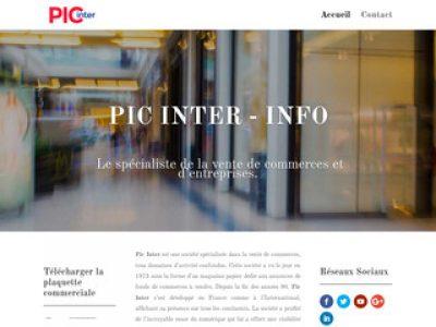 Pic Inter: spécialiste des fonds de commerce