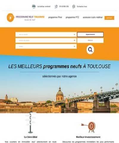 L'agence immobilière de Toulouse