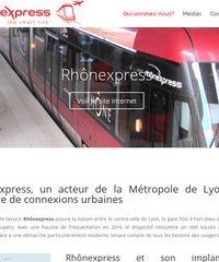 Rhônexpress: entreprise spécialisée en transport ferroviaire à Lyon