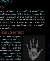 Marabout Bangoura pour résoudre tous vos problèmes