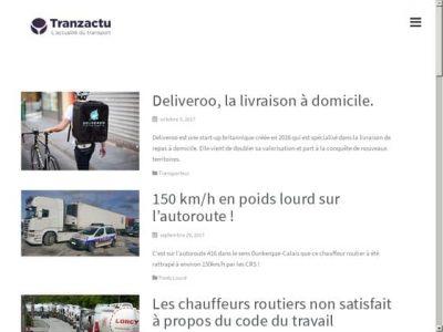 Tranzactu et l'information sur Deliveroo
