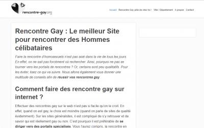 Site de rencontre gay