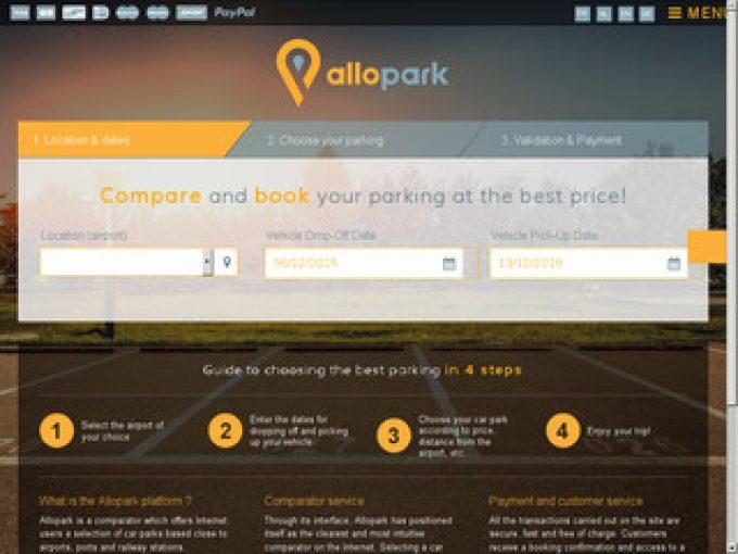 Allopark: comparateur parking aéroport