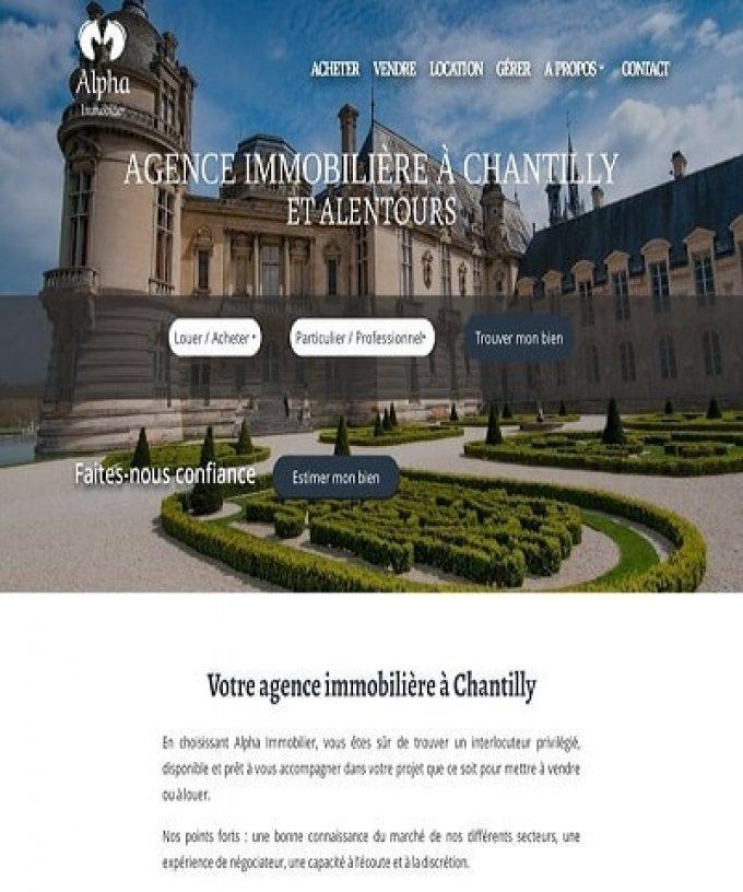 L'agence immobilière de Chantilly et ses alentours