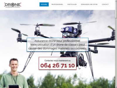 Trouvez sur ce site la meilleure assurance drone