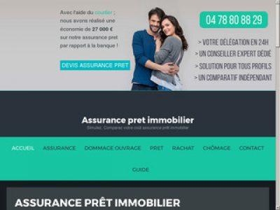 Le meilleur comparateur d'assurances de prêt immobilier