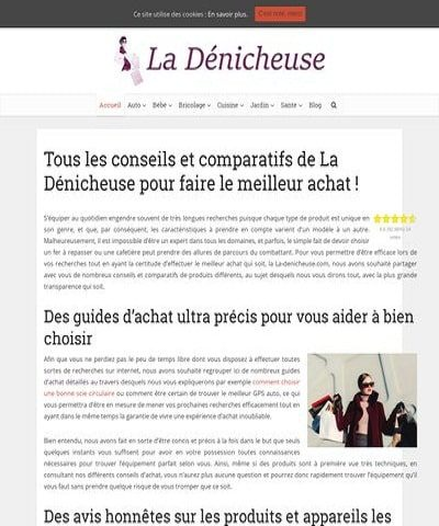 La Dénicheuse, le meilleur site pour faire un bon achat