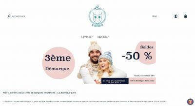 Boutique Lora: vente de vêtements casual chic pour hommes et femmes