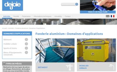 La fonderie aluminium Dejoie