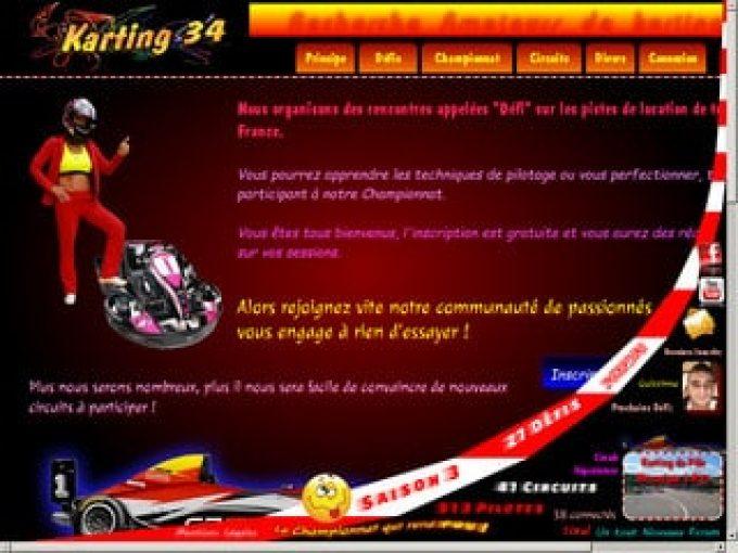 Karting 34, le championnat des passionnés de sport mécanique
