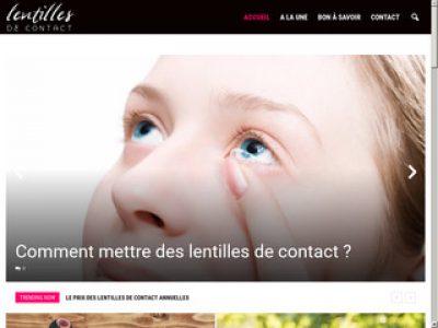 Guide d'utilisation de lentilles de contact