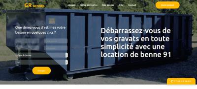GR Bennes : le spécialiste de la location de bennes en Île-de-France