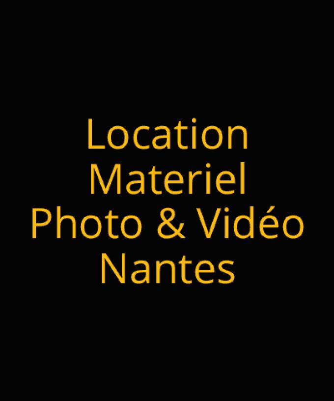 Location de matériel photo & vidéo à Nantes