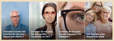Choisir des lunettes pour femme
