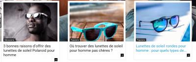 Choisir des lunettes de soleil pour homme