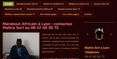 Un marabout africain à Lyon pour un rituel de désenvoûtement