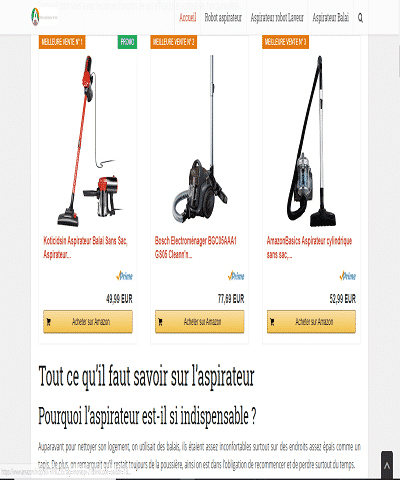 Faire le bon choix pour votre robot aspirateur