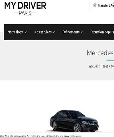 MyDriverParis, location de véhicules et chauffeurs
