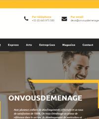 onvousdemenage.com: votre allié pour tous vos problèmes de déménagement