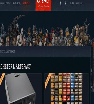 Achetez ici de bons Pc gamer Artefact !