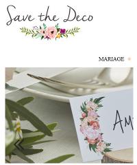 Savethedeco, trouvez vos décorations et accessoires de mariage