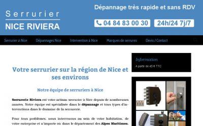 Trouvez rapidement un serrurier à Nice et environs