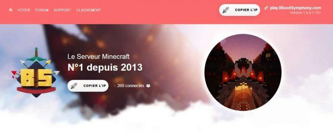 Tout savoir sur le serveur Minecraft numéro 1