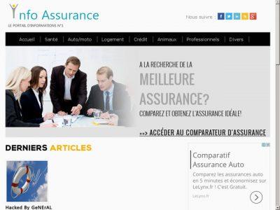 Le portail d'information en assurance