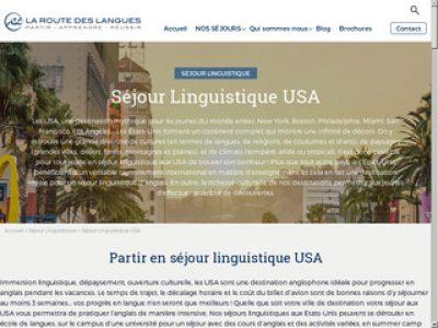 Apprenez autrement l'anglais avec la route des langues