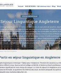 La route des langues, pour votre séjour linguistique sur l'Angleterre