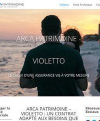 ARCA Patrimoine – Violetto, choix d'une assurance vie sur mesure