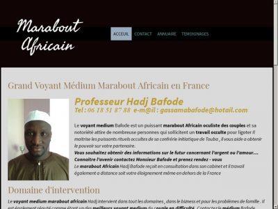 Puissant marabout africain en Haute-Normandie