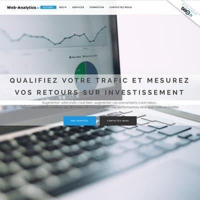 Votre agence Google Analytics à Paris