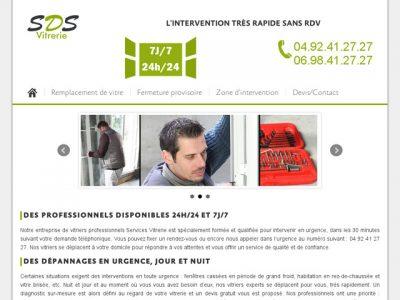 Vos services de vitrerie dans la ville de Nice