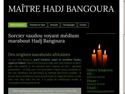 Hadj Bangoura, votre partenaire pour une vie paisible